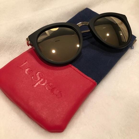 5b94331b8ca Le Specs - No Smirking Limited 50mm Sunglasses NEW